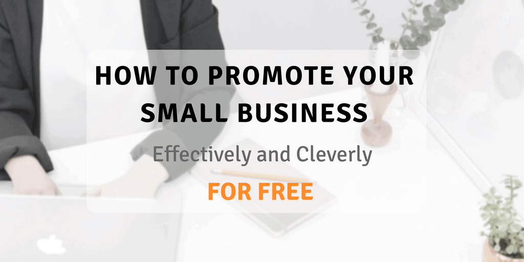 How to promote your small business