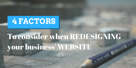 Factors To Consider When Redesigning Your Business' Website