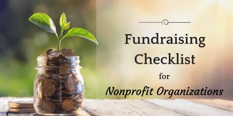 Fundraising Checklist for Nonprofit Organizations