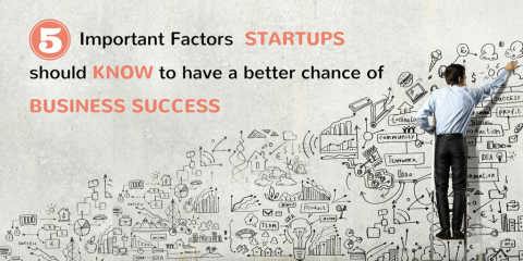 Five Important Factors Startups Should Know To Have A Better Chance Of Business Success