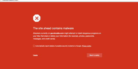 Here's what to do if your website has been infected with malware and red-flagged by internet browsers.