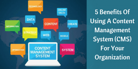 5 Benefits of using a Content Management System (CMS) for your Organization